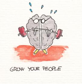 Cerebros dibujado
